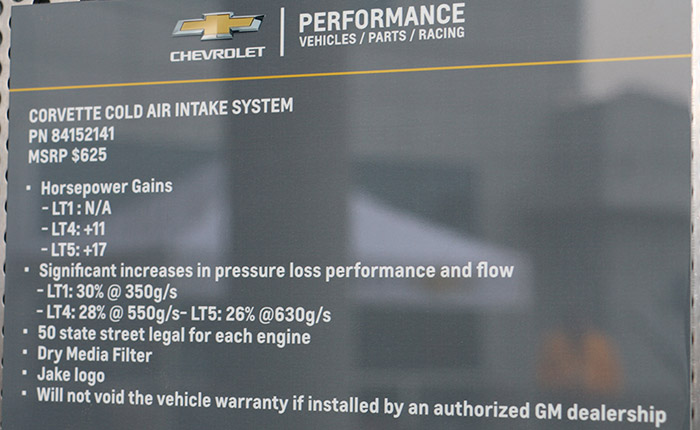 [PICS] GM Performance Parts Shows Off New Cold Air Intake at the NCM Bash