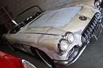 Corvettes on eBay: No Powertrain 1958 Corvette Barn Find