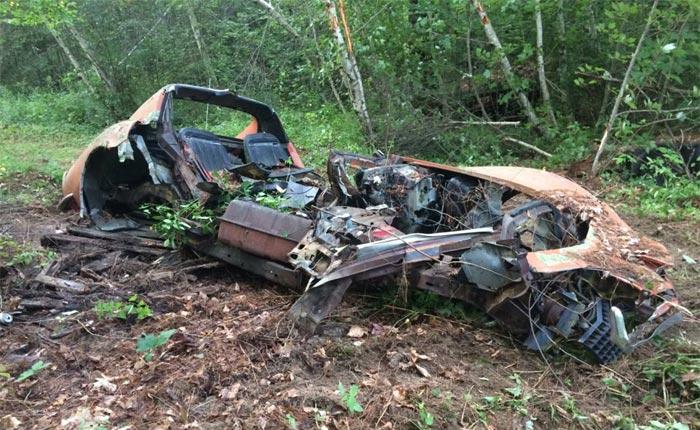 Corvettes on Craigslist: Wrecked 1970 Corvette for $350