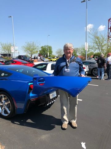 Corvette Delivery Dispatch with National Corvette Seller ...