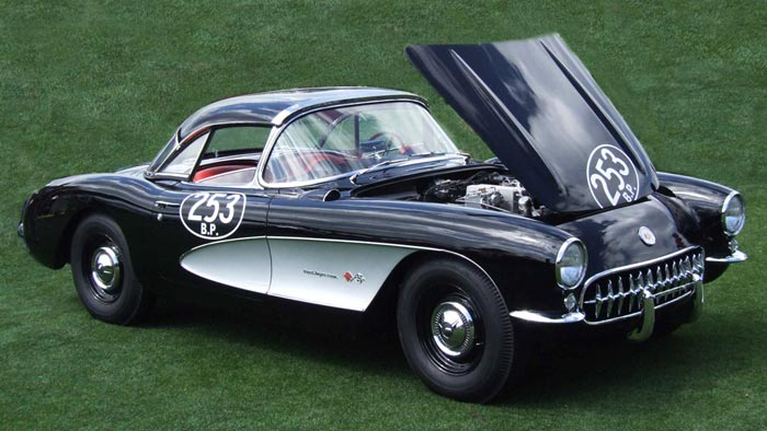 The First 1957 Pilot 'Airbox' Corvette Offered for $900,000