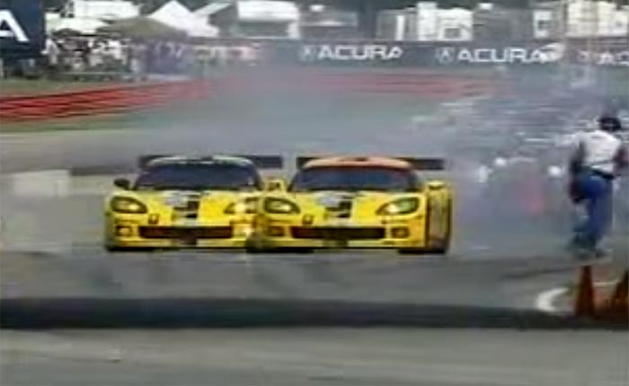 [VIDEO] Throwback Thursday: 10 Years Ago the C6.Rs Banged Doors at Mid-Ohio