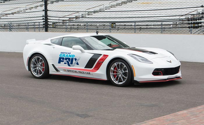 [PICS] Corvette Grand Sport to Pace This Weekend's Indy Grand Prix