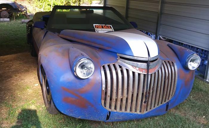 Found on Facebook: 1984 Corvette Rat Rod