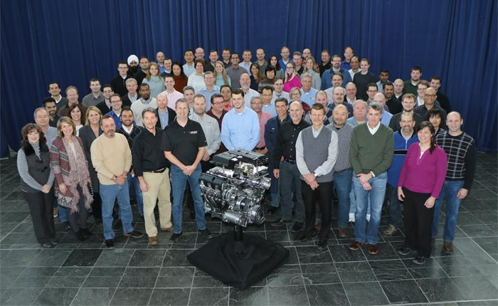 Key GM Global Propulsion Systems personnel involved in the development of the LT5 V8 Engine.