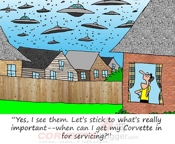 Saturday Morning Corvette Comic: Nothing Else Matters...