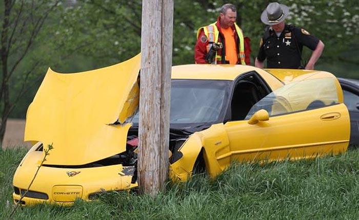 [ACCIDENT] C5 Corvette vs Utility Pole in Ohio