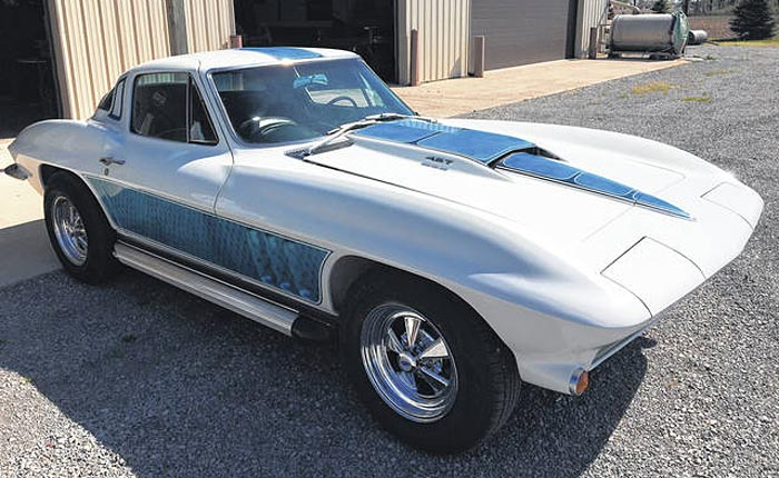 [PIC] Groovy-Painted 1966 Corvette Finally Out of Long Term Storage