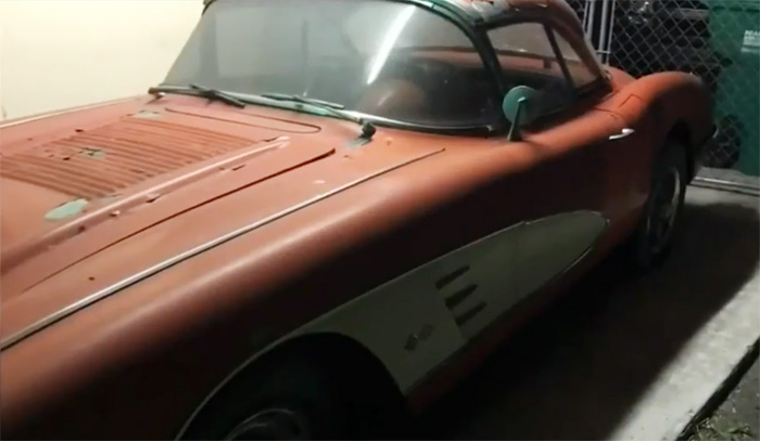 [STOLEN] 1958 Corvette Taken From South Florida Carport on Mother's Day