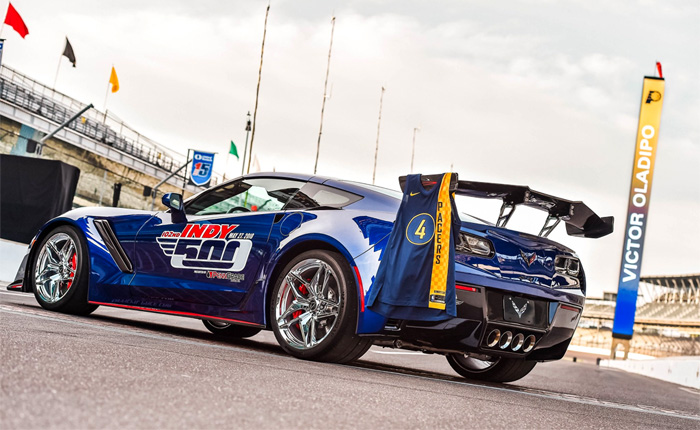 NBA All-Star Victor Oladipo to Drive the 2019 Corvette ZR1 Indy 500 Pace Car