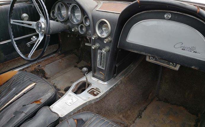 Corvettes on eBay: 1963 Corvette Split Window Barn Find
