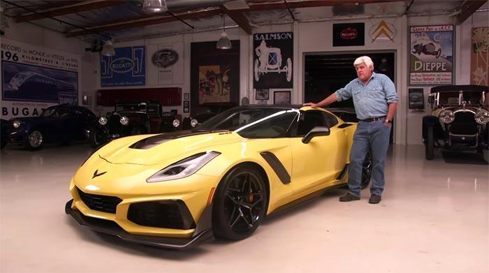 [VIDEO] 2019 Corvette ZR1 Heads to Jay Leno's Garage