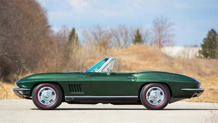 Bart Starr's Super Bowl I MVP 1967 Corvette Could Be Headed Back to Lambeau Field