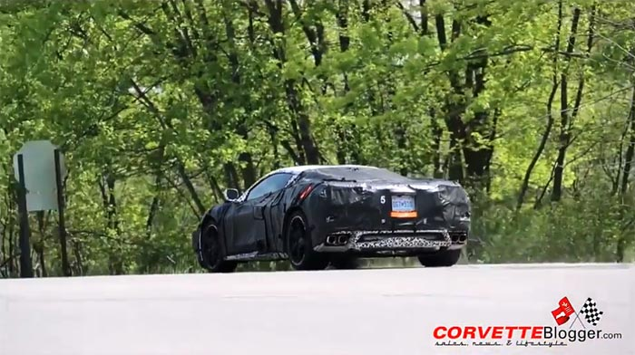 [VIDEO] The Mid-Engine C8 Corvette's Exhaust Sounds and Lightning Quick Shifts