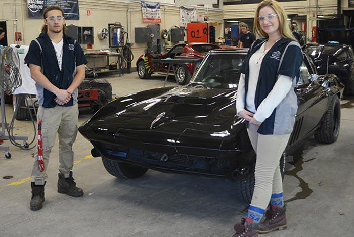 A Former Drug Dealer's 1966 Corvette Restored by Ohio High School Students