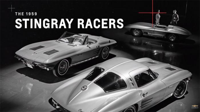 The 1959 Corvette Stingray Racer