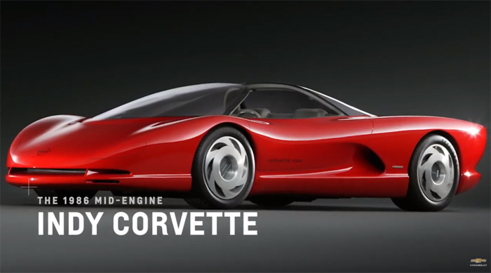1986 Mid-Engine Indy Corvette