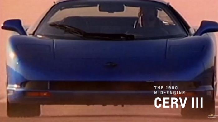 1990 Mid-Engine CERV III