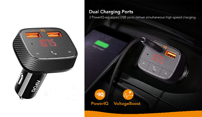 [AMAZON] Roav SmartCharge FO Bluetooth FM Transmitter and Car Charger Discounted to Under $11