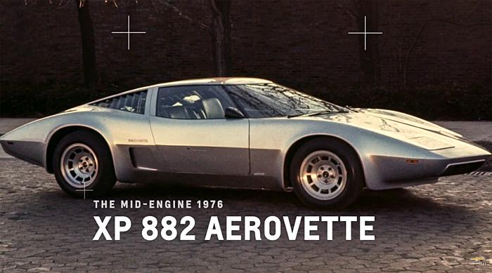 The 1976 Mid-Engine XP 882 AeroVette