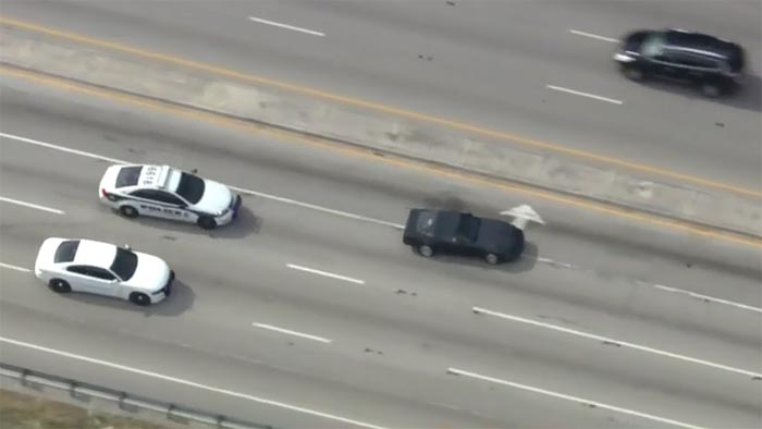[VIDEO] Driver in Stolen C4 Corvette Leads Police on a Wild Chase in South Florida