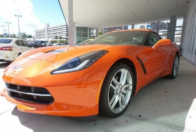 Orange 2019 Stingray 1LT