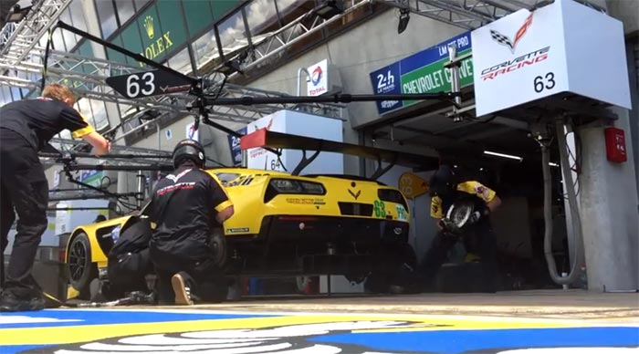 [VIDEO] Watch the Corvette Racing Pit Crew Perform a Rear Brake Change in Less Than 29 Seconds