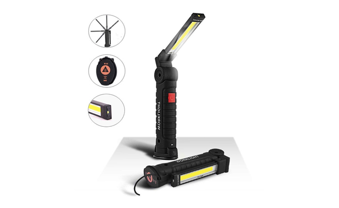 [AMAZON] Save 40% on this LED Rechargeable Work Light Now Under $8