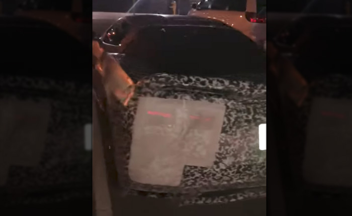 [VIDEO] Extreme Close-Up of a Parked 2020 Corvette on Woodward Avenue