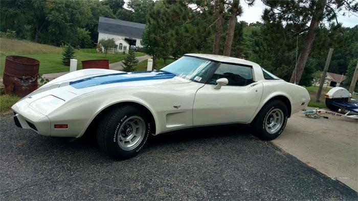 [STOLEN] 1979 Corvette Parked on a Flat-Bed Trailer Stolen in Michigan