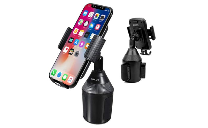 [AMAZON] Adjustable Cup Holder Phone Mount Now Just $7
