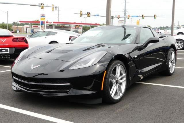 Black 2019 Stingray 1LT