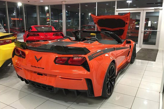 The First 2019 Yenko S/C Corvette Stage II with 1,000 HP to be Offered at Barrett-Jackson