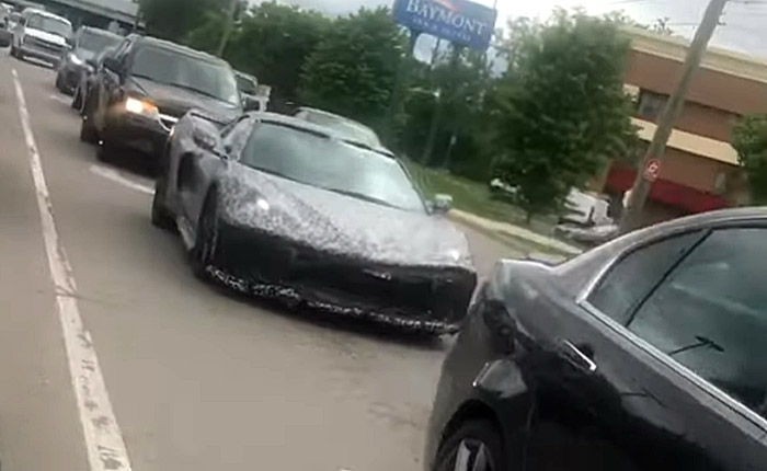 [SPIED] C8 Corvette Spotted in Traffic