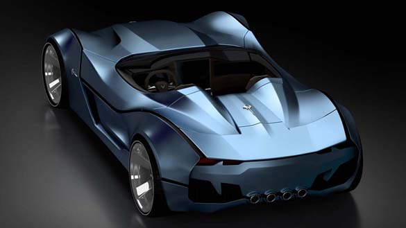 The Corvette Stingray 60 Concept is a Modern Take on the Iconic 1959 Stingray Racer