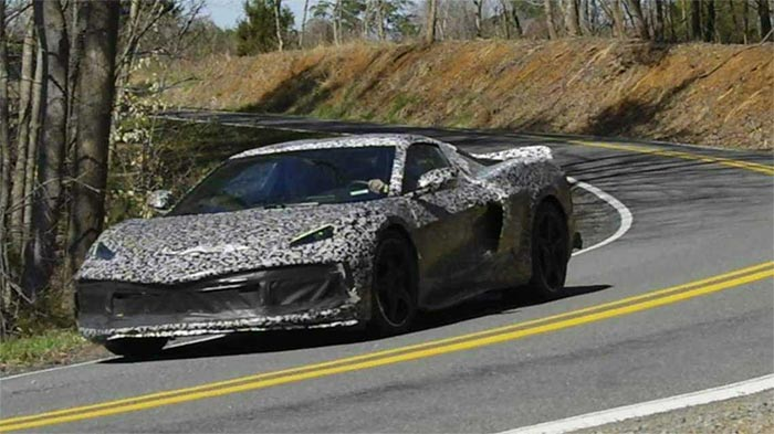 [SPIED] A Cavalcade of C8 Corvette Prototypes Spotted Out and About