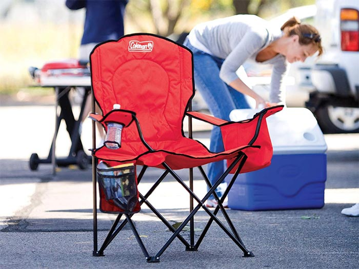 [AMAZON] Save 24% on the Coleman Camping Chair with 4-Can Cooler