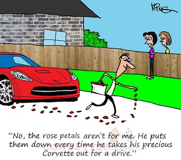 Saturday Morning Corvette Comic: Royal Treatment