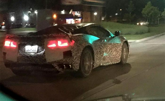 [SPIED] Nocturnal Mules and More with these Latest C8 Corvette Sightings