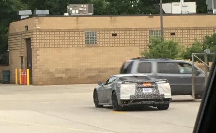 [SPIED] Noctural Mules and More with these Latest C8 Corvette Sightings