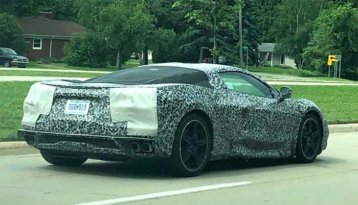 [SPIED] Multiple New Videos Show C8 Corvette Testing Now in High Gear