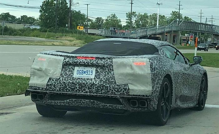 Multiple New Videos Show C8 Corvette Testing Now in High Gear