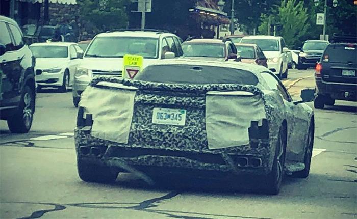 C8 Corvettes Spied In Public