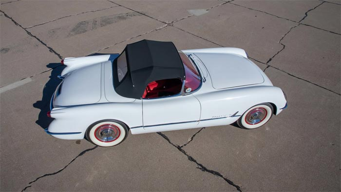 The Final 1953 Corvette will be Auctioned by Mecum in Monterey