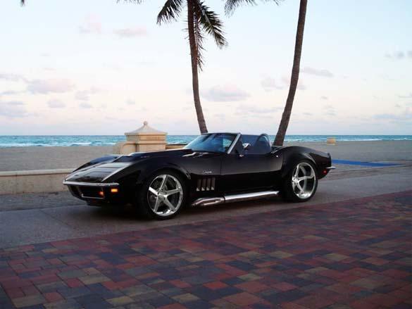 Corvettes Hit the Beach!