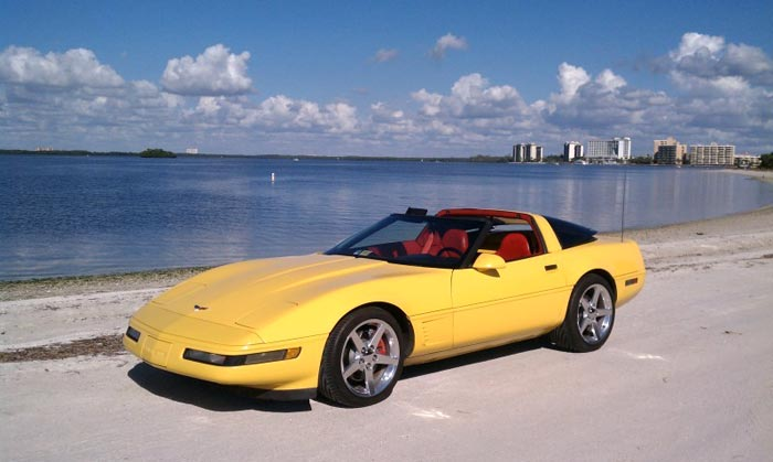 [GALLERY] Corvettes Hit the Beach on this First Day of Summer (55 Corvette photos)