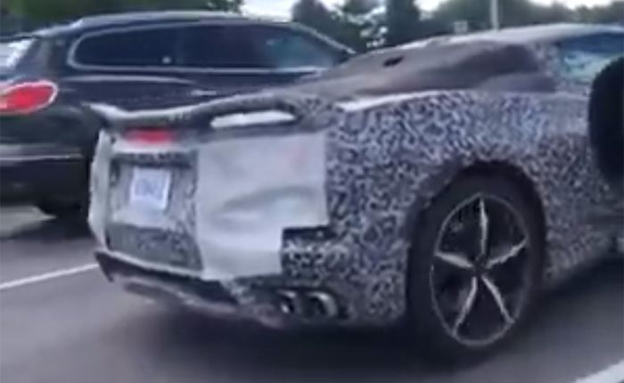 [VIDEO] Guy Tries to Challenge a C8 Corvette Driver By Throwing Revs at Him