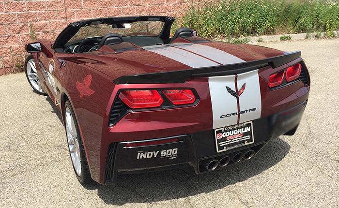 2019 Corvette Stingray Convertible - Indy 500 Festival Car