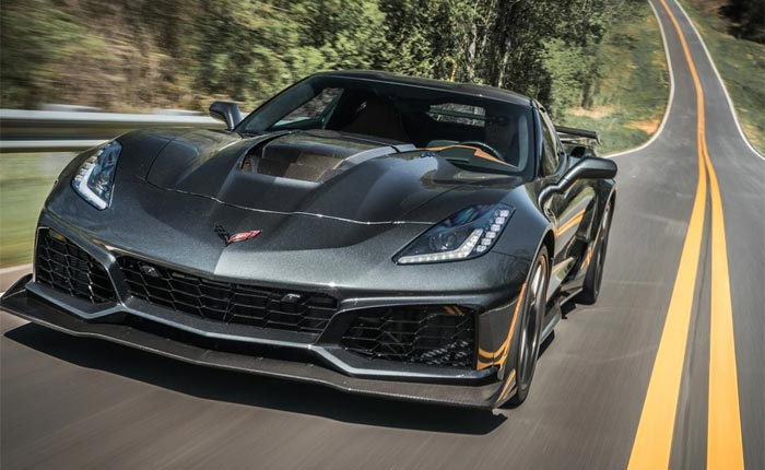Kelley Blue Book Names the 2019 Corvette as Number One of the 10 Best Road Trip Cars of 2019