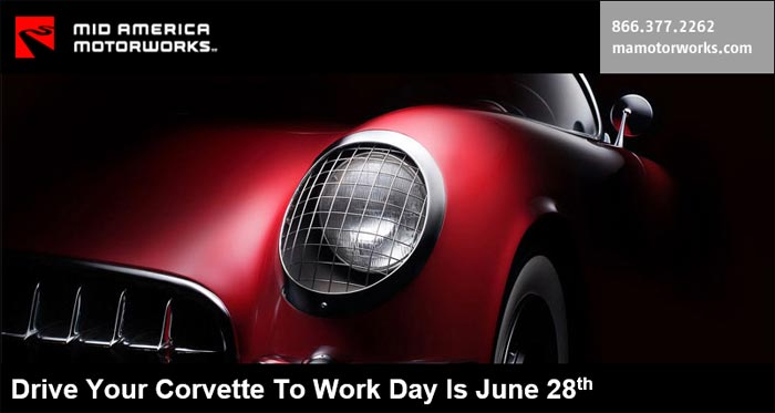 Friday is Drive Your Corvette to Work Day!